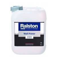 Ralston Wall Primer / Валл Праймер 5,0л (грунт под окраску, паропроницаемый)