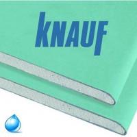 Гипсокартон влагостойкий стеновой Knauf 2,75*1,2 метра