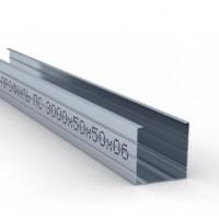 Профиль стоечный CW 50/50, толщ. 0,6 мм, 3 метра Беларусь