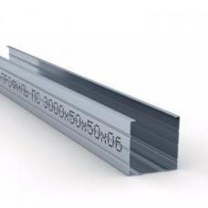 Профиль для гипсокартона стоечный CW 50/50, толщ. 0,6мм, 3 метра