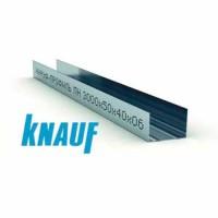 Профиль для гипсокартона KNAUF направляющий UW 50/40, толщ. 0,6 мм, 3 метра
