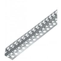 Угол перфорированный алюминиевый 18*18, длина 2,5 метра