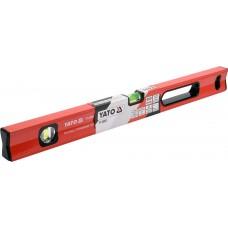 Уровень магнитный YATO YT - 30061 60 см, 2 глазка, Польша