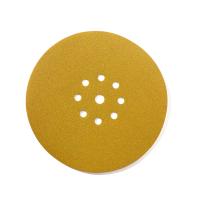 Шлифовальный диск СМиТ на липучке; диаметр 225 мм / P120