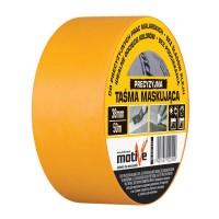 Лента малярная MOTIVE на рисовой бумаге, желтая 48мм*50м