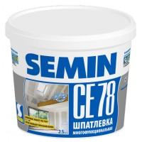 Шпатлевка SEMIN CE 78 белая крышка, 25 кг.