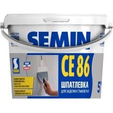 Semin CE 86 Высокопрочная трещиностойкая шпатлевка для стыков ГКЛ/ГВЛВ, 5кг