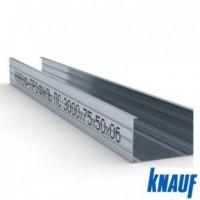 Профиль для гипсокартона KNAUF стоечный CW 75/50, толщ. 0,6мм, 3 метра