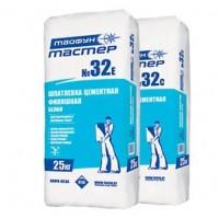 Шпатлевка белая цементная финишная «Тайфун Мастер»  №32е, 25 кг