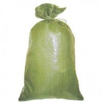 Мешок для строительного мусора, полипропиленовый , зеленый.