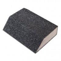 Губка шлифовальная угловая Р120, 100х70х25мм, цена за 1 шт.