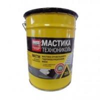 Мастика кровельная и гидроизоляционная битумно-полимерная МКТН, 20 кг
