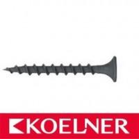 Саморез для гипсокартона Koelner 3,5*25 по дереву (1000шт) Польша