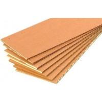 Картон укрывочный, трехслойный 1,25*2,0 метра, 2,5 м2, цена за 1 лист.