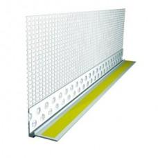 Профиль примыкания к проемам ПВХ 6 мм с армирующей сеткой, длинна 2.4 метра