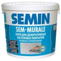 Клей для декоративных покрытий SEMIN SEM-MURALE, 10 кг