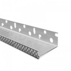 Цокольная планка для утеплителя 100 мм, длина 2.5 м, алюминиевая