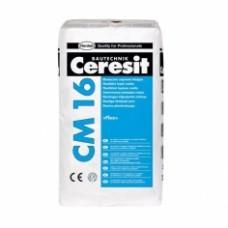 Эластичный клeй для плитки Ceresit CM 16, 25 кг
