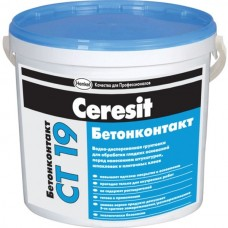 Грунтовка Ceresit CT19, «Бетонконтакт» 5 литров