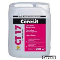Грунтовка Ceresit CT17 (белый), концентрат 5 литров