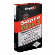 Клей для плитки и камня SOPRO №1/400, 25 кг