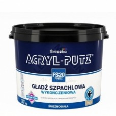 Шпатлевка готовая Sniezka ACRYL-PUTZ FS20 FINISZ (РП) 17 кг
