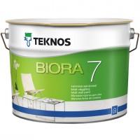 Матовая краска для стен TEKNOS BIORA 7, 2.7 литра