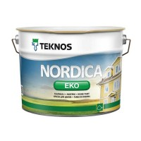 Краска для деревянных фасадов TEKNOS  NORDICA EKO, 9 литров