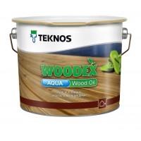 Масло для дерева TEKNOS Woodex Wood Oil AQUA, 2.7 литра