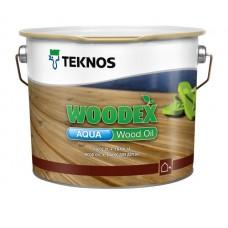 Масло для дерева TEKNOS Woodex Wood Oil AQUA, 9 литров