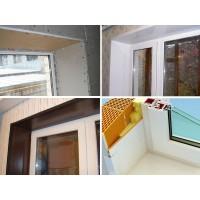 Как сделать откосы на окнах – отделка штукатуркой, обшивка гипсокартоном или панелями?
