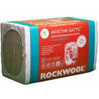 Звукоизоляция ROCKWOOL АКУСТИК БАТТС, 100мм, 3,0 м2