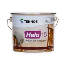 Специальный лак TEKNOS HELO 15 матовый, 9 литров
