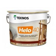 Специальный лак TEKNOS HELO 40 полуглянец, 2.7 литра