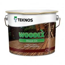 Масло для дерева TEKNOS Woodex Wood Oil Brown, 2.7 литра