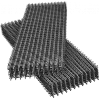 Сетка сварная черная в картах Эконом, 100*100, цена за 1 м2