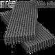 Сетка сварная черная в картах 50*50, толщ. 4 мм