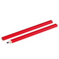 Столярный карандаш , красный.