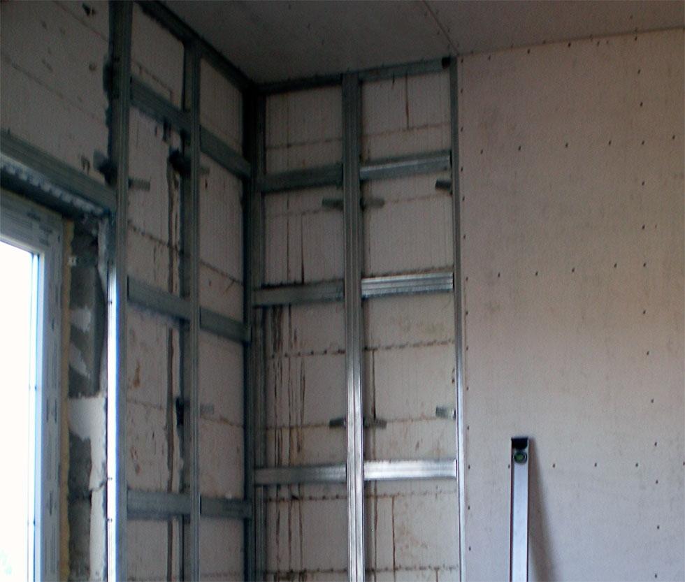 как правильно подготовить стену под плитку