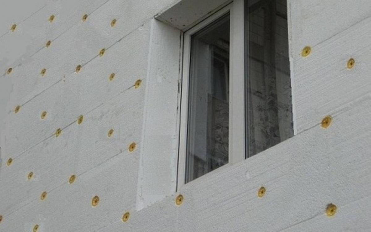 как правильно утеплить фасад пенопластом